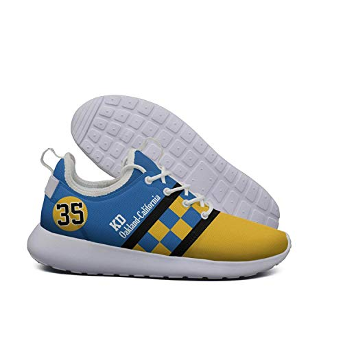 Uter ewjrt woman Yellow-blue dividing line 35 light track running shoes mesh Climbing sneaker