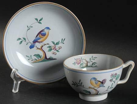 Spode Queen's Bird Cup and Saucer Set Canton Shape