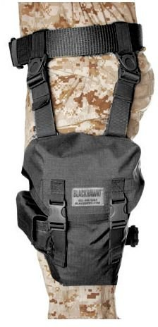 Blackhawk  Ultralight Omega Gas Mask Pouch   Black