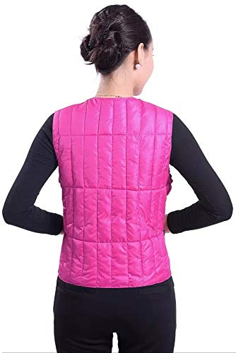 Vest Style Down Warm Jacket YIHIGH with Waist Down 01 Buckle Outwear Fashion Waistcoats Lightweight Women's Style Elastic wEZZxCqnU5