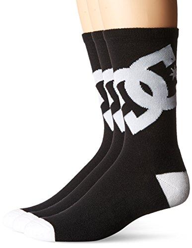 dc-mens-crew-6-3-pack-socks-black-9-to-11