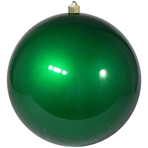 Christmas by Krebs KBX72981 Shatterproof Christmas Ball Ornament, 12-Inch, Candy Green]()