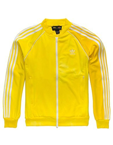 54a1985b8 adidas Mens Pharrell Williams hu Holi SST Track Jacket - Yellow ...