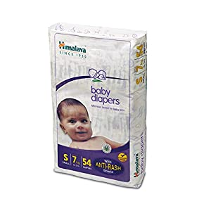 Himalaya Baby Small Size Diapers (54 Count) India