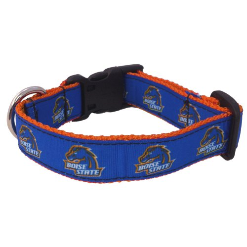 Boise Gear Broncos State (All Star Dogs NCAA Boise State Broncos Dog Collar, Royal, X-Small)