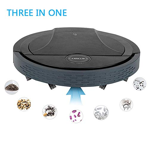 Robot Vacuum, Sweeping, Vacuuming and Mopping 3 in 1 Multifunctional Vacuum Cleaner, Super-Thin Quiet USB Charging, Avoid Obstacles Intelligently, Robot Vacuum Cleaner for Pet Hair,Hard Floor,Carpet