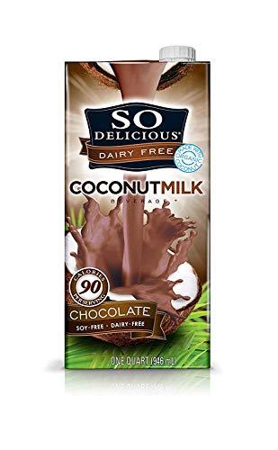 So Delicious Dairy Free Coconutmilk Beverage, Chocolate, 32 Ounce, 12 Count