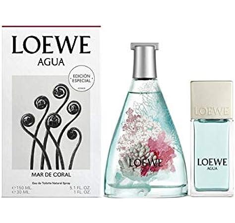 Loewe - Estuche de regalo eau de toilette agua de mar de coral: Amazon.es: Belleza