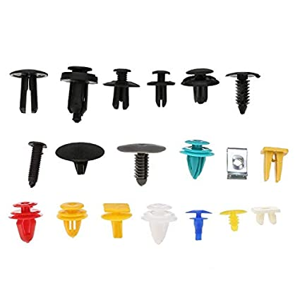 10pcs Car Trim Door Panel Retainer Clips Rivet Fastener 8mm Hole For Vauxhall  !