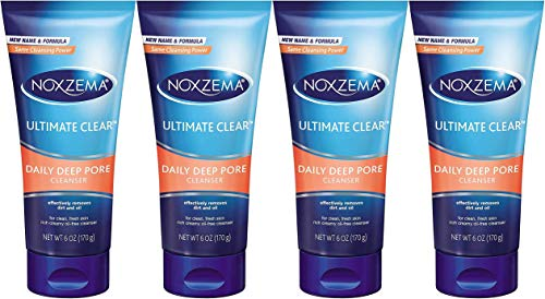 Noxzema Cleanser Daily Deep Pore Cleanser 6 ounce (Pack of 4)