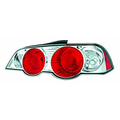 IPCW CWT-109C2 Crystal Eyes Crystal Clear Tail Lamp - Pair: Automotive