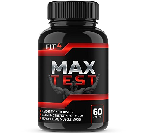 MAX TEST | Testosterone booster | Testosterone booster for men | Booster supplement | Test booster | For energy & Sex drive | Horny Goat Weed | Tongkat Ali | Boron