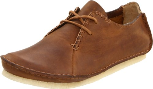 Clarks Women's Faraway Field Oxford,Beeswax leather,8 M US