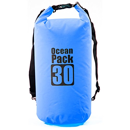 Medium Dry Sherry (BK Waterproof Dry Bag 30L - Dry Sack With Shoulder Strap is Lightweight and Perfect to Protect Your Gear from Kayaking, Rafting, Boating, Camping and Fishing)