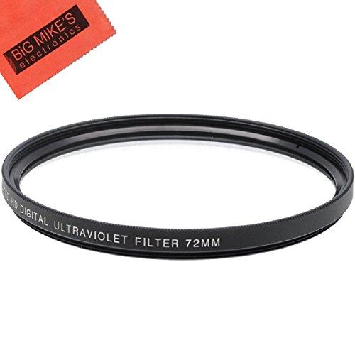 72mm Multi-Coated UV Protective Filter for Nikon D500 DX-Format Digital SLR with 16-80mm ED VR Lens