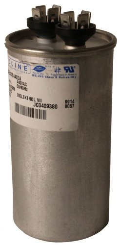 Fasco C4RS45 Proline 45 Mfd/440-volt Single Microfarad Capacitor with 2-Inch Base Size and 3.88-Inch Case Height by Fasco