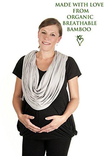 Boho Mama Luxury Breastfeeding Nursing Cover (Gray) by Easy Mom and Baby   B00KWAU9NQ
