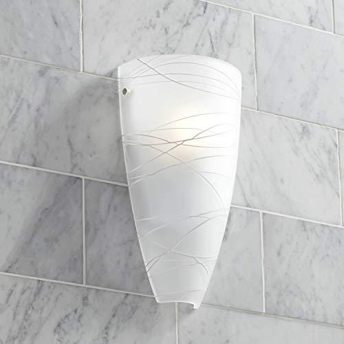 Isola Modern Wall Light Freeform White 13.25