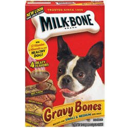 Milk-Bone Gravy Bone Biscuits (Small/Medium - 19-oz box