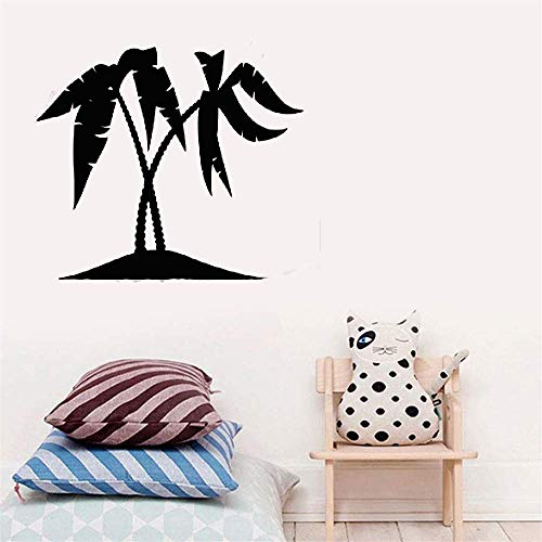 (Peryas Vinyl Wall Lettering Stickers Quotes and Saying Palm Stickerstropical Beach Style Nursery Kid Bedroom)