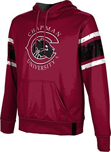 - ProSphere Chapman University Men's Pullover Hoodie, School Spirit Sweatshirt (End Zone) FF2C Red and Black