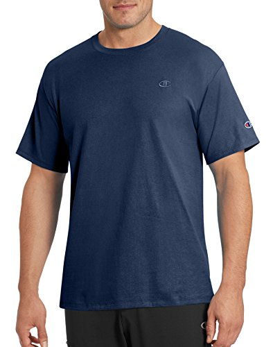 Champion Men's Classic Jersey T-Shirt, Navy, M