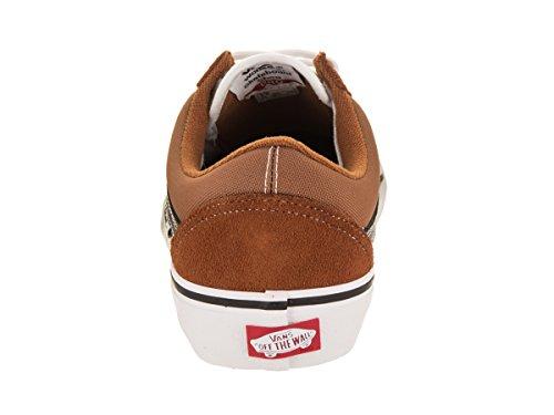 Vans Herren Old Skool Pro Skate Schuh Glasiert / Ingwer / Schwarz / Weiß