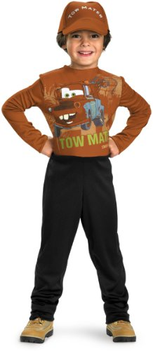 Mater Costume Toddler (Tow Mater Child Costume - Small)