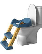 Potty Training Toilet Seat, Adjustable Non-slip Children