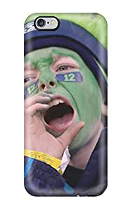 Iphone 6 Plus Hard Back With Bumper Silicone Gel Tpu Case Cover Seattleeahawks