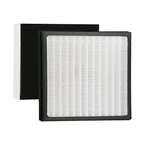 GHM Part # IAF-H-100D Idylis HEPA Air Purifier and Carbon Filter Set, Fit Idylis Air Purifiers IAP-10-280, AC-2118, and AC-2123, Model # IAP10280