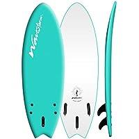 Wavestorm 5'6 Original New Modern Swallowtail Surfboard