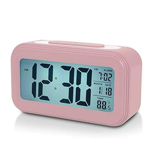 - Battery Digital Alarm Clock for Bedroom, 4.5