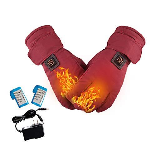Elektrische verwarmde handschoenen voor mannen/vrouwen, elektrische verwarming thermische handschoenen…