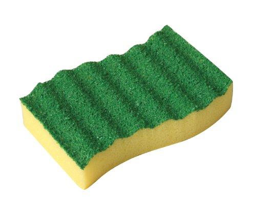 Bel-Art F17078-0001 Cleanware Polyurethane Glassware Scrubbing Sponge; 4¼ x 2½ x 1 in. (Pack of 2)