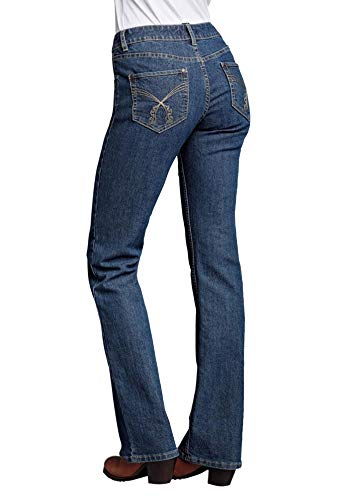 Ellos Women's Plus Size Bootcut 5-Pocket Jeans by Ellos
