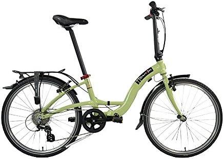 Dahon 2017 Briza D8 – Bicicleta Plegable con Ruedas de 24