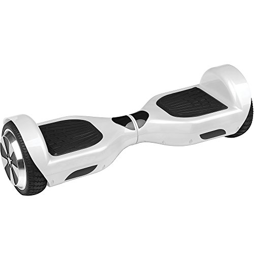 InMotion MoHawk R6 UL2272 Certified Self Balancing Hoverboard, White/Black
