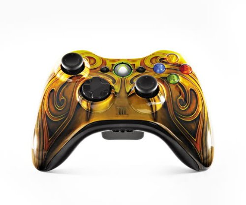 Amazon Com Xbox 360 Branded Fable 3 Controller Wireless Video Games
