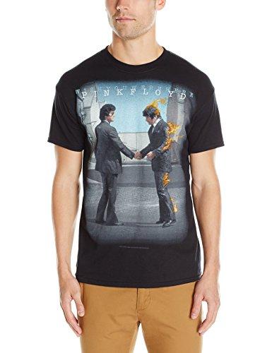 Liquid Blue Men's Pink Floyd Have A Cigar Short Sleeve T-Shirt,Black,X-Large