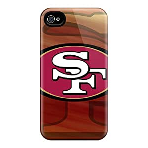 Shockproof/dirt-proof San Francisco 49ers Covers Cases For Iphone(4/4s)