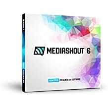 MediaShout 6 Worship and Ministry Presentation Software with Unlimited Site License at Single Location (Windows)