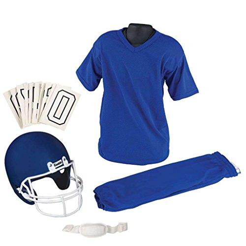 Franklin Sports Youth Football Uniform Set, Medium, Blue ()