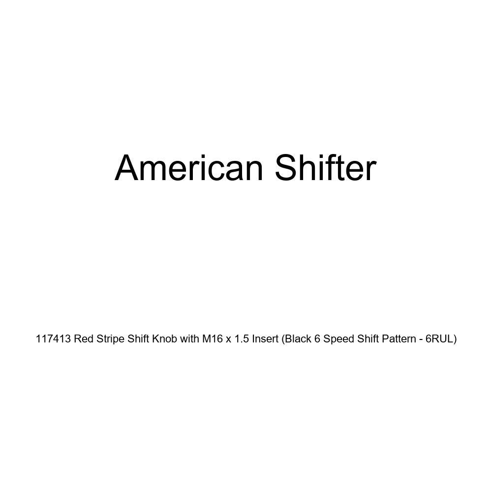 American Shifter 146934 Black Retro Shift Knob with M16 x 1.5 Insert Pink Navy