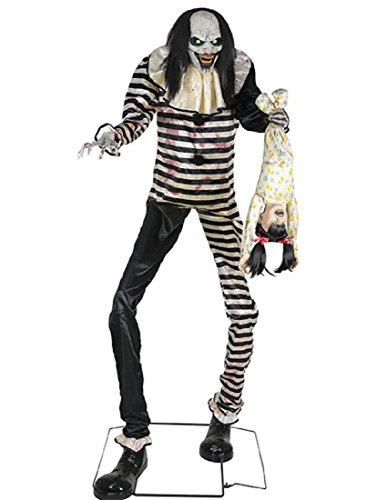 Seasonal Visions Animated Sweet Dreams Clown Prop -