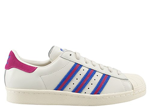 adidas Originals Superstar 80s formateurs Blanc AQ3073, Taille:42