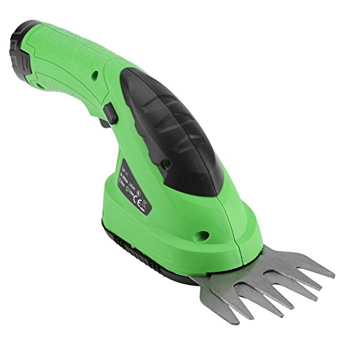 GLOGLOW 2 in 1 Cordless Lithium-Ion Grass Shear/Hedge Trimmer Lightweight Rechargeable Grass Clippers with Removable Wheels Ideal for Garden Trim and Pruned Flowers by GLOGLOW