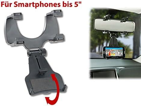 Lescars Handyhalter Rückspiegel Elektronik