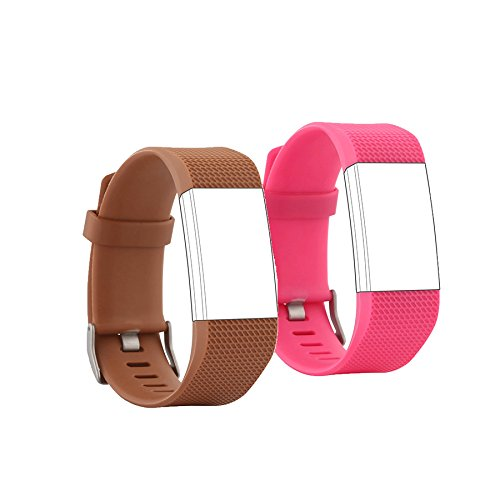 Fit-power - Correas intercambiables para la pulsera Fitbit Charge 2: Amazon.es: Deportes y aire libre