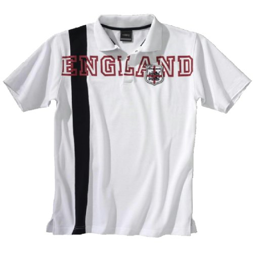 Umbro England Polo Blanco Talla:Large: Amazon.es: Ropa y accesorios